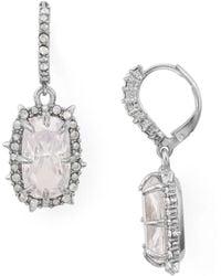 Alexis Bittar - Crystal Leverback Drop Earrings - Lyst