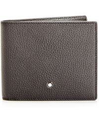 Montblanc - Meisterstück Bi-fold Leather Wallet - Lyst
