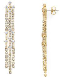 Nadri - Gloria Fringe Earrings - Lyst