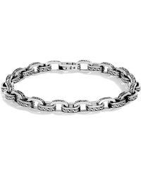 John Hardy - Men's Sterling Silver Classic Chain Link Bracelet - Lyst