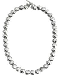 "John Hardy - Sterling Silver Palu Disc Necklace, 18"" - Lyst"