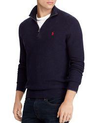 Polo Ralph Lauren - Half-zip Sweater - Lyst
