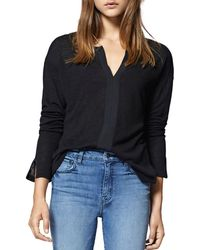 Sanctuary - Sienna Mixed Media Top - Lyst