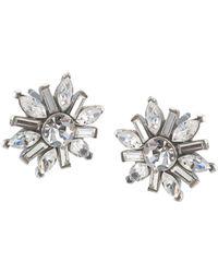 Carolee - Small Cluster Earrings - Lyst