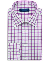 Hilditch & Key - Large Check Regular Fit Dress Shirt - Lyst