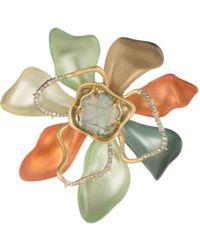 Alexis Bittar - Block Flower Pin - Lyst