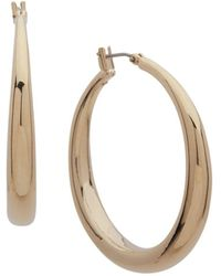 Ralph Lauren - Lauren Large Graduated Hoop Earrings - Lyst