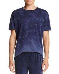 ATM - Camouflage Pigment Short Sleeve Tee - Lyst