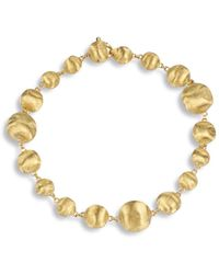Marco Bicego - Africa Gold Mixed Bead Bracelet - Lyst