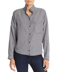 Joie - Houndstooth Shirt - Lyst