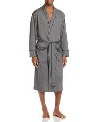 Daniel Buchler - Contrast-piped Cotton Robe - Lyst