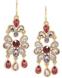 Carolee - Chandelier Earrings - Lyst