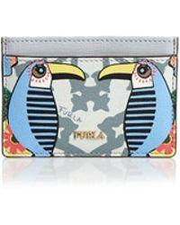 Furla - Babylon Small Leather Card Case - Lyst
