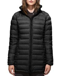 Canada Goose - 'Brookvale' Hooded Quilted Down Coat - Lyst