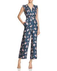 Rebecca Taylor - Emilia Floral Silk Jumpsuit - Lyst