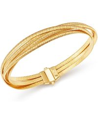 Marco Bicego - 18k Yellow Gold Cairo Five-strand Bracelet - Lyst