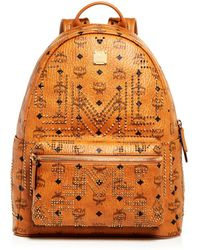 MCM - Stark Gunta Medium Studded Backpack - Lyst