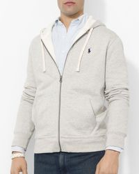 Polo Ralph Lauren - Full-zip Fleece Hoodie - Lyst