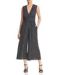 Kate Spade - Lia Dot - Print Jumpsuit - Lyst