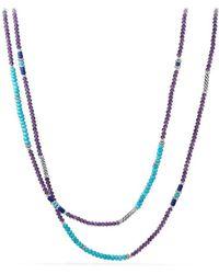 David Yurman - Turquoise & Lapis Lazuli - Lyst