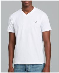 Fred Perry - Classic V-neck Tee - Lyst