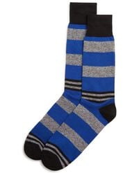 Bloomingdale's - Striped Socks - Lyst
