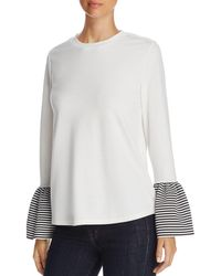 Beach Lunch Lounge - Bell Sleeve Top - Lyst
