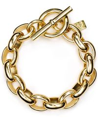 Ralph Lauren - Lauren Oval Link Chain Bracelet - Lyst