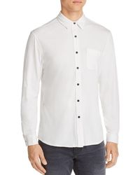 PAIGE - Stockton Regular Fit Shirt - Lyst