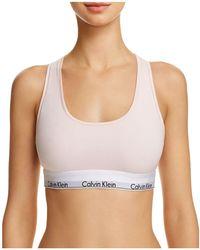 Calvin Klein | Modern Cotton Bralette | Lyst