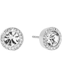 Michael Kors - Pavé Stud Earrings - Lyst