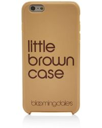 Bloomingdale's - Little Brown Iphone 7/8 & Iphone 7/8 Plus Case - Lyst