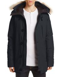 Canada Goose - Chateau Parka With Fur Hood - Lyst