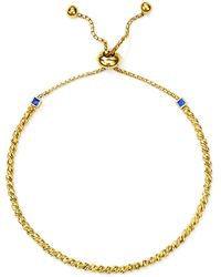 Officina Bernardi - Slash Bead Slider Bracelet - Lyst
