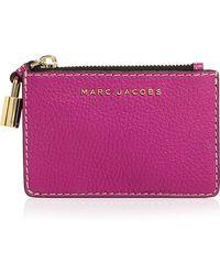 Marc Jacobs - The Grind Top Zip Multi Wallet - Lyst