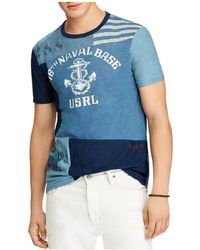 Polo Ralph Lauren - Nautical Graphic Custom Slim Fit Tee - Lyst
