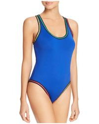La Blanca - Threading Crossback One Piece Swimsuit - Lyst