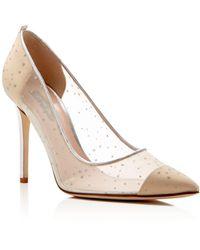 825de4b19d81 SJP by Sarah Jessica Parker - Glass Glitter Dot Pointed Toe High-heel Pumps  -