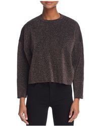 Guess - Bina Cropped Sparkle Jumper - Lyst