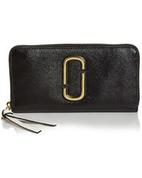 Marc Jacobs - Snapshot Standard Leather Continental Wallet - Lyst