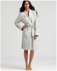 Ralph Lauren - Lauren Quilted Collar & Cuffs Short Robe - Lyst
