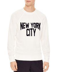 Sandro - New York Sweatshirt - Lyst