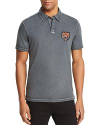 John Varvatos - Patch Polo Shirt - Lyst