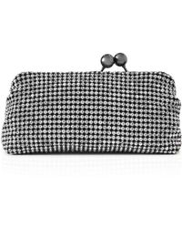 Reiss - Bell Small Crystal Clutch - Lyst