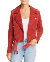 Blank NYC - Suede Moto Jacket - Lyst