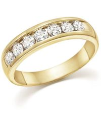 Bloomingdale's - Diamond Men's Band In 14k Yellow Gold, 1.0 Ct. T.w. - Lyst