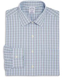 Brooks Brothers - Small Grid Classic Fit Dress Shirt - Lyst
