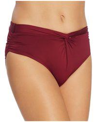 Carmen Marc Valvo - Weave Hipster Bikini Bottom - Lyst