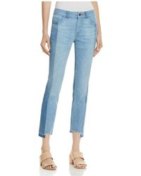 DL1961 - Mara Instasculpt Ankle Straight Step-hem Jeans In Combo - Lyst