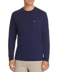 Vineyard Vines - Overdyed Heathered Long Sleeve Tee - Lyst